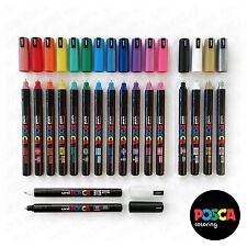 POSCA PC-1MR Peinture Marqueur 18 Ensemble de stylo - plastique Portefeuille -