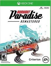 Burnout Paradise Remastered RE-SEALED Microsoft Xbox One 1 XB XB1 XB3 GAME
