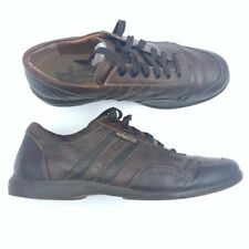 Mephisto Mens Sneakers Brown Lace Up Shock Absorber Caoutchouc Shoes 11 EU 10.5