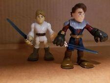Playskool Star Wars Luke & Anakin Skywalker Heroes Adventures Action Figures