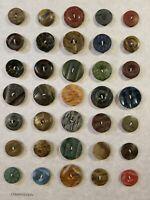 Lot of Vintage Antique Composition Buttons