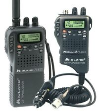 NEW MIDLAND MICRO PORTABLE CB RADIO WITH VEHICLE ADAPTER 75-822