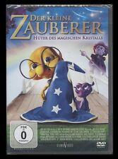 DVD DER KLEINE ZAUBERER - HÜTER DES MAGISCHEN KRISTALLS - TRICKFILM für Kinder *