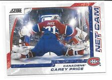 2011-12 Panini Score # 5 Carey Price Montreal Canadiens Netcam Net Cam
