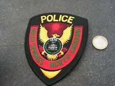 PATCH POLICE ECUSSON COLLECTION  USA   police north carolina