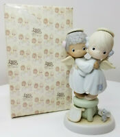 Enesco Precious Moments Angels We Have Heard on High Figurine with Box (T069)