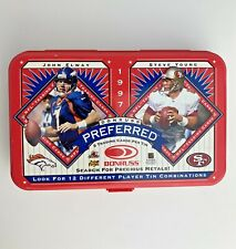 1997 John Elway Steve Young  Donruss Preferred  Tin Only Football Broncos 49rs
