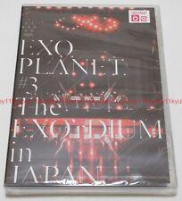 New EXO PLANET #3 The EXO'rDIUM in JAPAN Regular Edition 2 DVD AVBK-79372 EMS