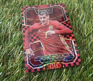 Panini Select Soccer 17/18 Checkerboard Card Alvaro Morata Spanien