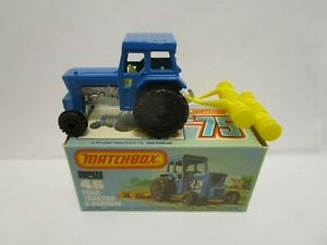 1978 MATCHBOX SUPERFAST 46 FORD TRACTOR & HARROW ***NEW IN BOX***