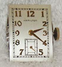 Vintage HAMILTON 22 Jewel 770-22 Watch Movement - Working Condition