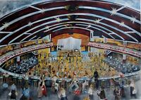 Northern Soul Art; Northern Soul Dancers, Wigan Casino,  5 signed prints