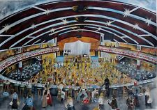 Northern Soul; Five Dancer limited edition prints of Wigan Casino, Series 1