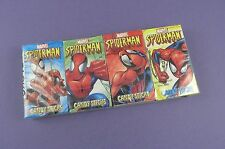 Four Spiderman Candy Stick Boxes, c2004 by World Confectionary in Sealed Pack