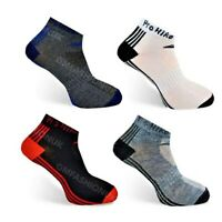 3 Pairs Mens Trainers Socks Invisible Shoe Run Gym Ankle Liner Size UK 6-11