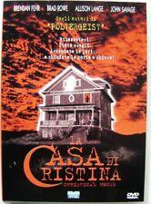 Dvd La Casa di Cristina di Gavin Wilding 1999 Usato