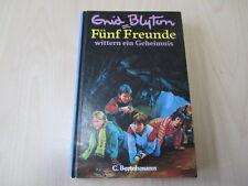 Enid Blyton - 5 FREUNDE WITTERN EIN GEHEIMNIS - C. Bertelsmann - HC (41. Aufl.)