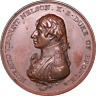 Medal 1805 Horatio Nelson Boulton's Battle of Trafalgar Medal Scarce ®-F29