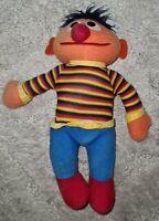 Ernie Sesame Street Vintage Playskool Plush Toy
