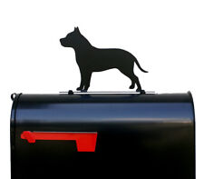 American Pit Bull Terrier Dog Mailbox Topper /Sign / Plaque - Pitbull - Usa Made