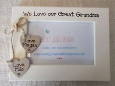 Handmade Photo & Picture Frames , Personalised