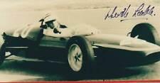 NEVILLE LEDERLE ORIG SIGNED PHOTO: DECEASED FORMEL 1-DRIVER: RARE