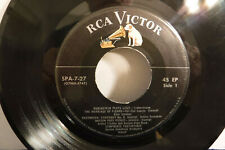 Save On Records June 1956, RCA Victor SPA 7-27, EP Sampler, Classical/Pop, Elvis