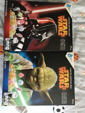 New Set of 2 Limited Edition Box Star Wars cereal Collectors 2015 Yoda Vader