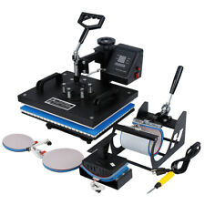 5in1 Heat Press Machine Digital Transfer Sublimation 12 X 15 Plate T Shirt Mug