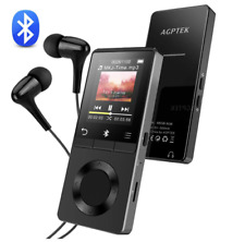 AGPTEK Metal MP3 Player with Speaker, M6B 8GB Hi-Fi Lossless Sound Quality