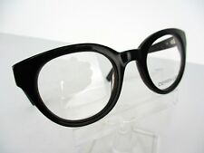NEW Derek Lam Mod 263 (BLKBN) Black/ Brown Marble 47 x 22 140 mm Eyeglass Frames
