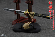 """1:6 Scale Toy Cold Weapon Mode European Shield & Sword  F 12"""" Male & Female Body"""
