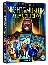 NIGHT AT THE MUSEUM 3 FILM COLLECTION 1 2 3  BEN STILLER  DVD SET REGION 4