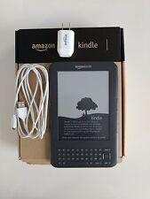 Amazon Kindle Keyboard (3rd Generation) Wi-Fi, 6in - Graphite