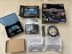 Sega Mega Drive Mini Console - Official Wireless Blue Controller - Boxed/New