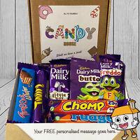 CADBURY Personalised Chocolate Sweet Hamper Gift Box Present Birthday Christmas