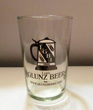 Barware Beer Glass Six Ounce Size Ad Glunz Louis Beer Lgbi