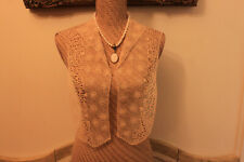 FABULOUS ANTIQUE HAND MADE LACE COLLAR