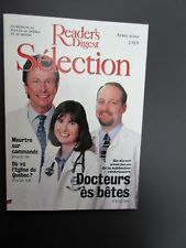 "Selection Reader's Digest Magazine  Avril 2000  Neuf   "" Docteurs es Betes """