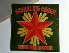 ECONOLINE CRUSH BRAND NEW HISTORY GREEN MUSIC STICKER