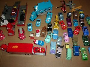 DISNEY PIXAR CARS LOT OF 48,,PLANES,HAULERS,MORE
