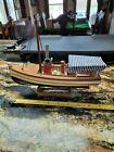 African Queen Style Wooden Model Boat $52.00