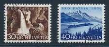 Schweiz Nr. 600-601 gestempelt, Höchstwerte Pro Patria 1954 (39122)