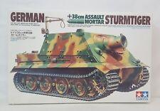 Tamiya 38cm STURMTIGER Assult Mortar German Tank 1/35 Plastic Model Kit #177 NEW