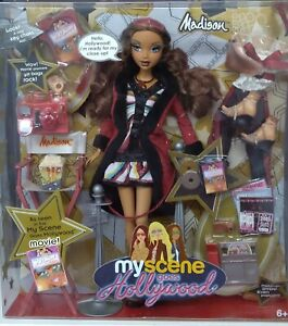 My Scene Madison Doll Goes Hollywood Gift Set Brand New in Original Box