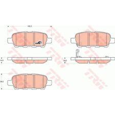 TRW Bremsbelagsatz, Scheibenbremse hinten - GDB3294 - Nissan Qashqai, X-Trail