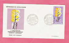 First Day Cover Ivory Coast Stamps