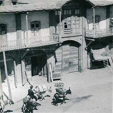HAMADAN c. 1960 - Maisons du Village  Iraniens à Dos d'Âne  Iran  - Div 6310