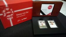 2009 SILVER PROOF 55c COIN & STAMP SET *AUST POST 200 YEARS EARLY POSTING BOX*