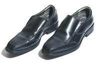 Julius Marlow Notion Mens Leather Dress Shoe Size 10 AU Black Oxford Formal VGC
